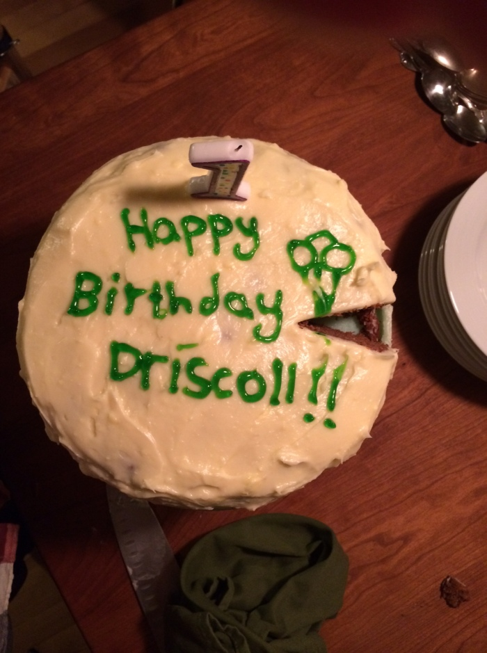 Happy Birthday Driscoll Cake