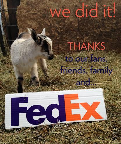 FedEx Grant Winner!