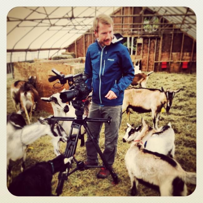Matt in the barn