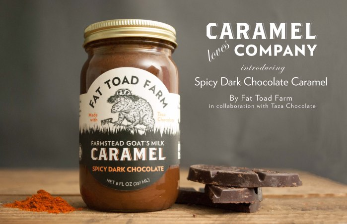 Spicy Dark Chocolate Caramel
